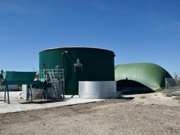 Planta biogas santibañez energy